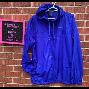 OAKLEY unisex zip up hoodie windbreaker jacket
